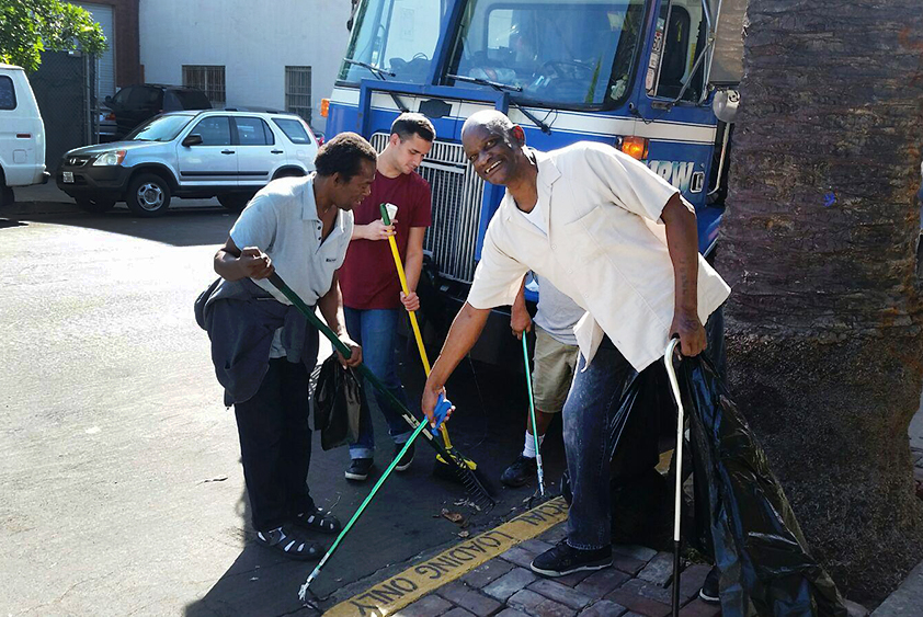 Gower Street Clean Up