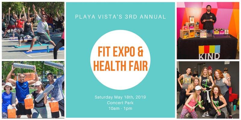 Playa Vista's 3rd Annual Fit Expo & Health Fair