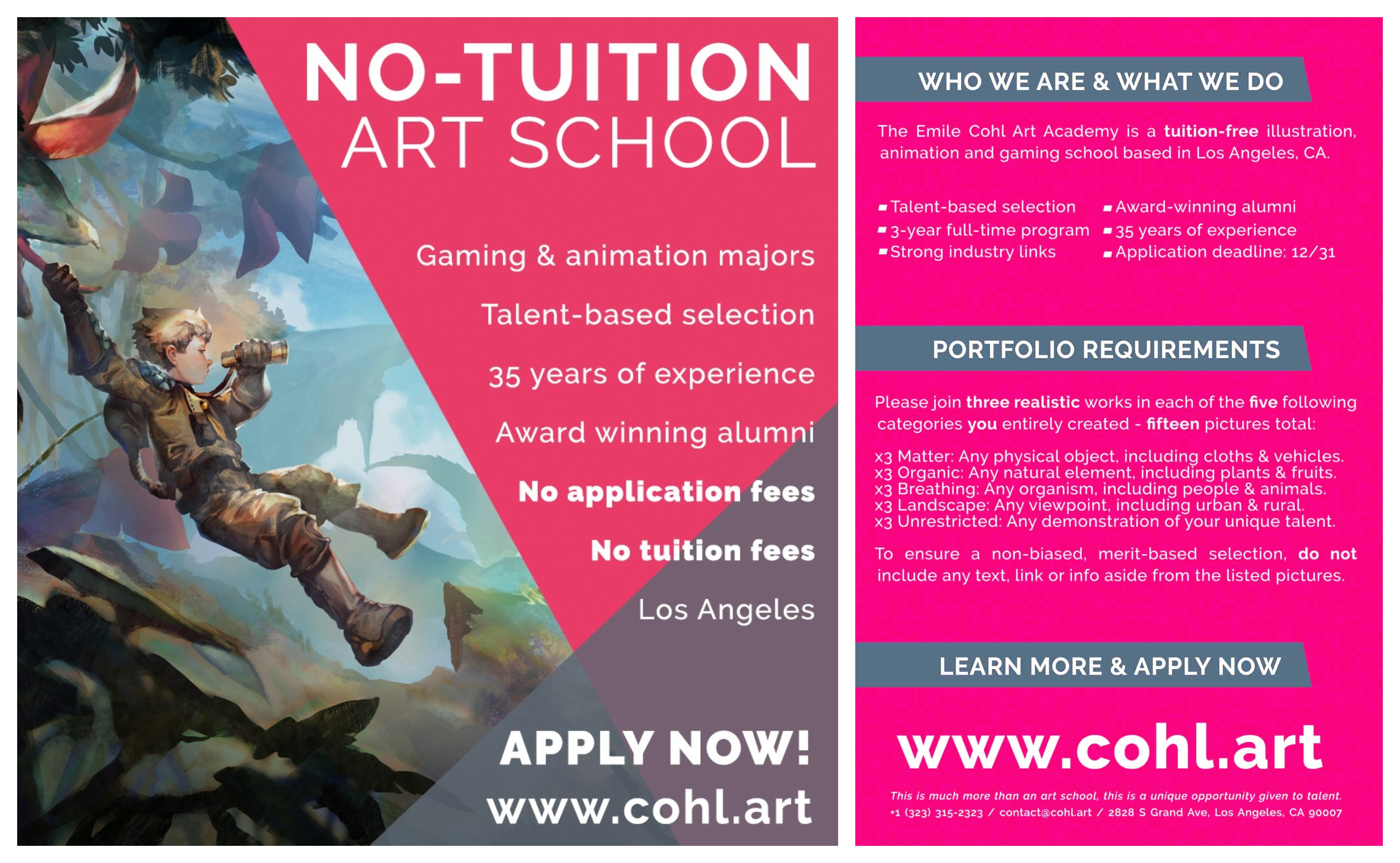 No-Tuition Art School