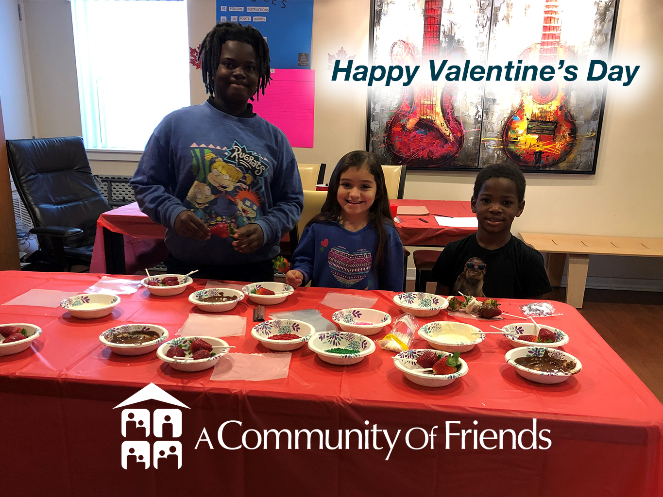 Osborne Place Celebrates the Day of Love