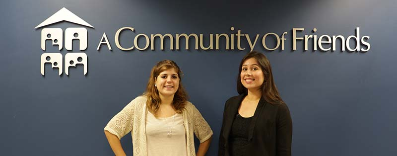 Mia Fahad and Aide Duran, VISTA Volunteers will assist ACOF with fund development and sustainability.