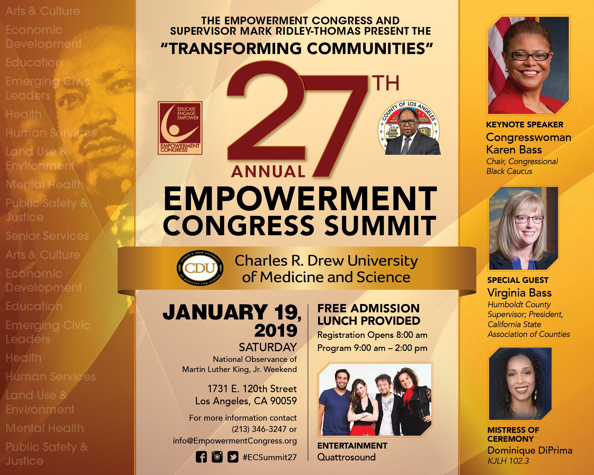 27th Annual Empowerment Congress Summit