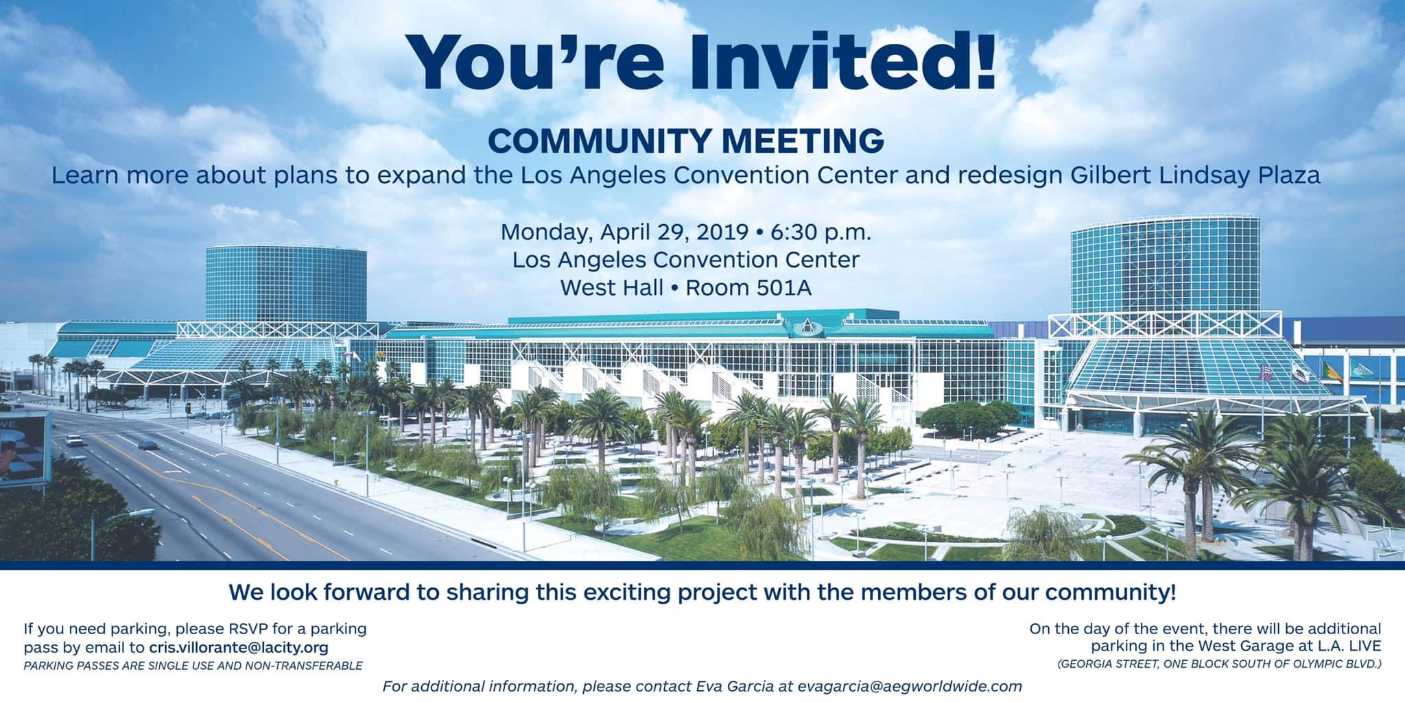 Los Angeles Community Meeting