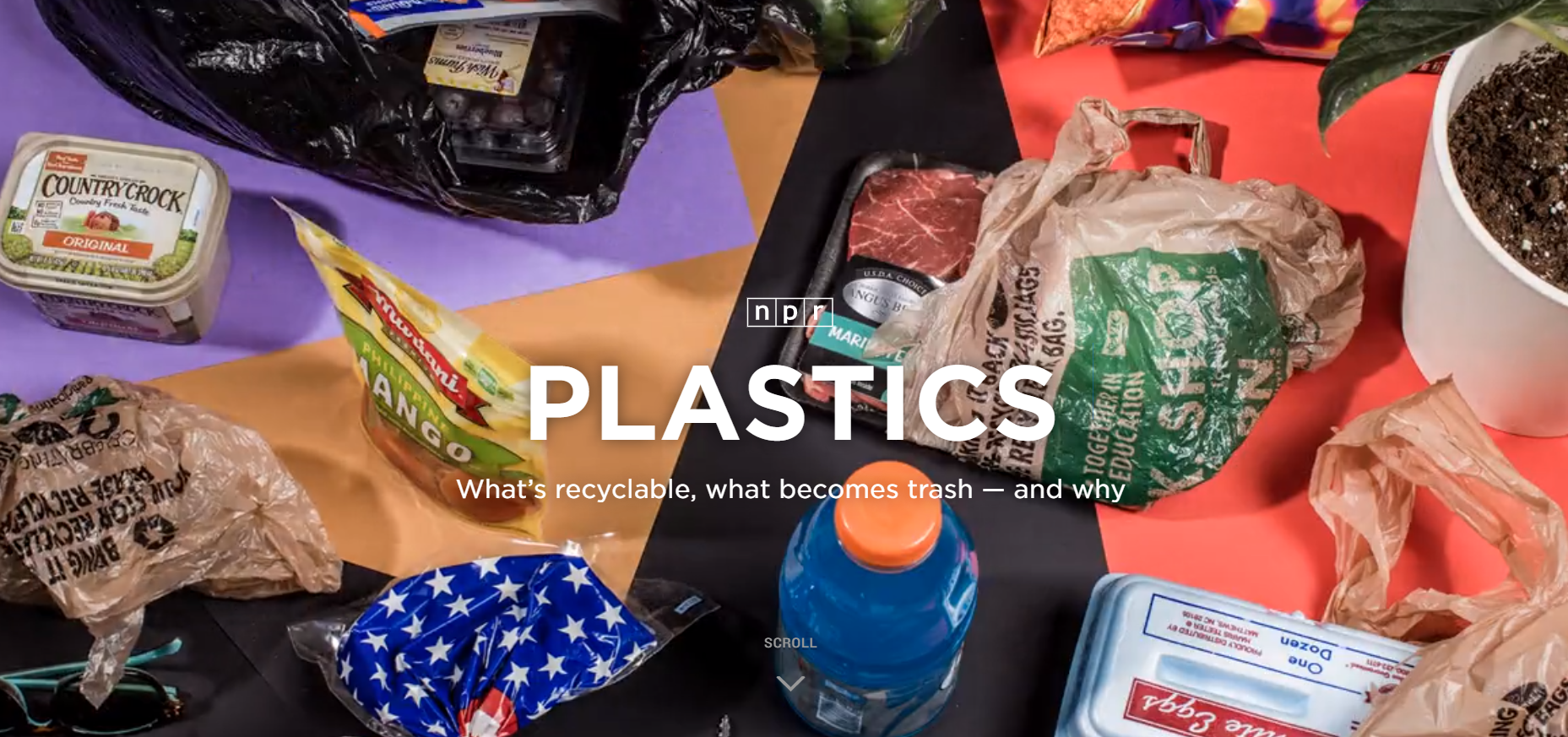 PLASTICS What's recyclable, what becomes trash — and why