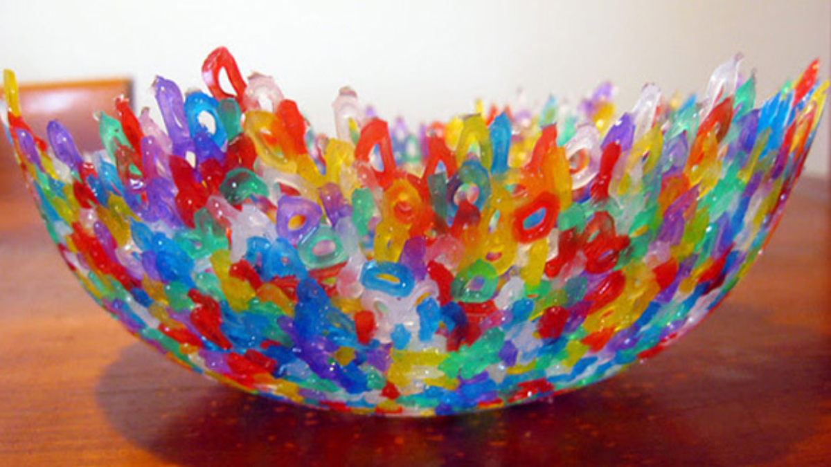 Create a Melted Bead Bowl