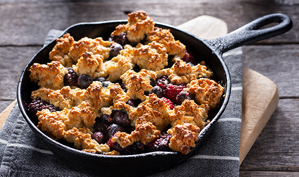 Satisfy Your Sweet Tooth: Campfire Cobbler
