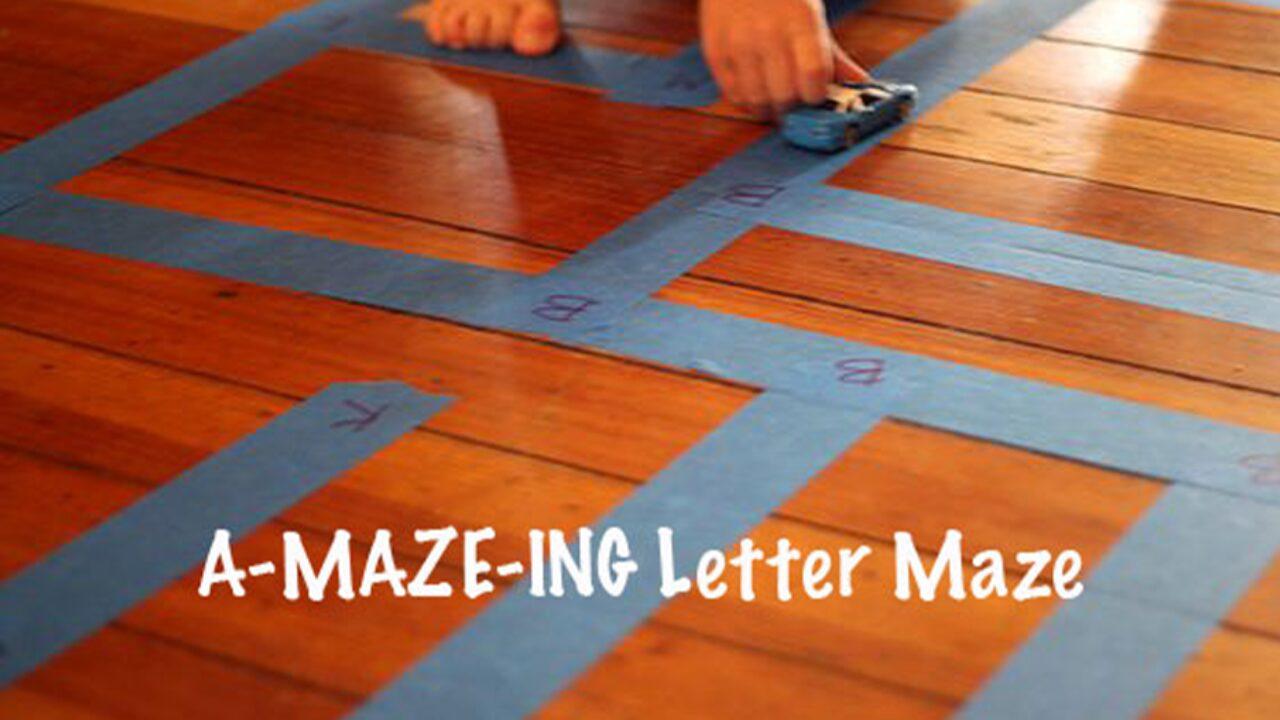 Solve an A-maze-ing Letter Maze
