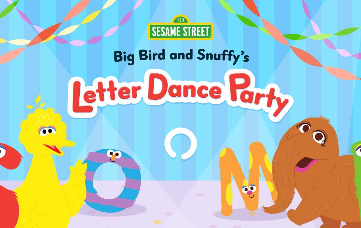 Play Online: Letter Dance Party