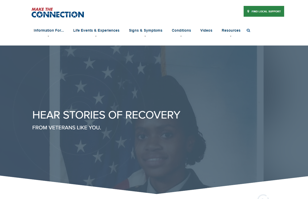 Make The Connection for U.S. Veterans