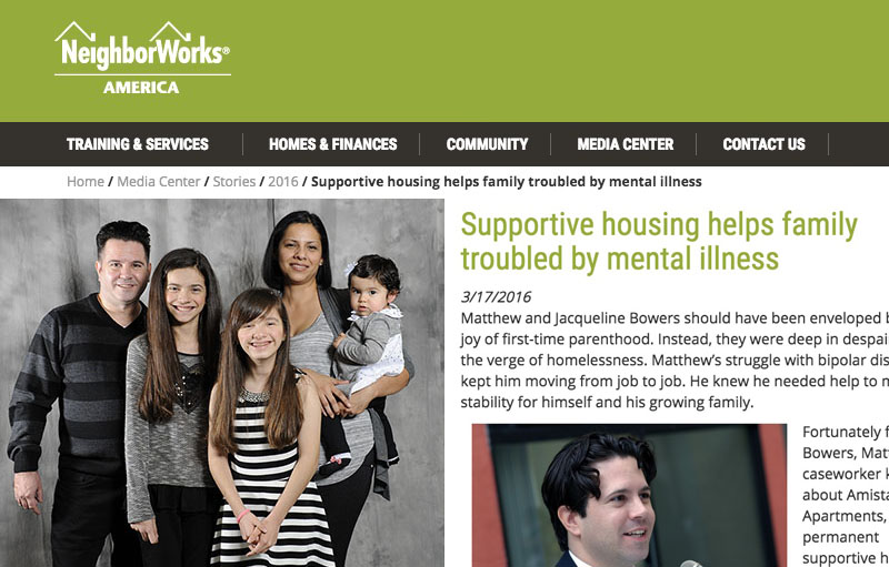 NeighborWorks America Features Bowers Family