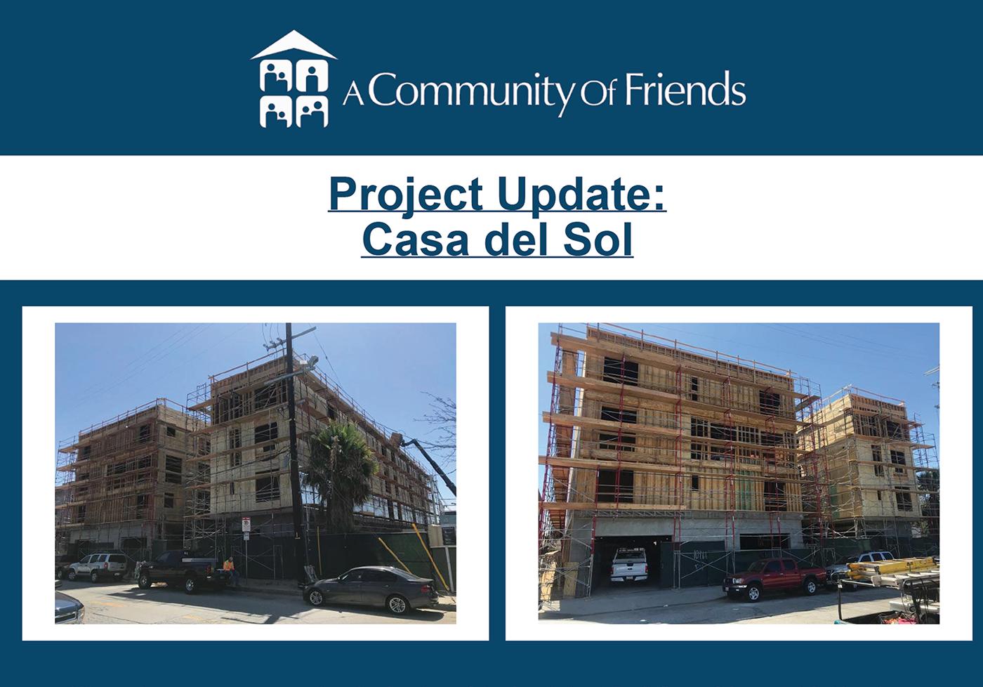 Project Update: Casa del Sol