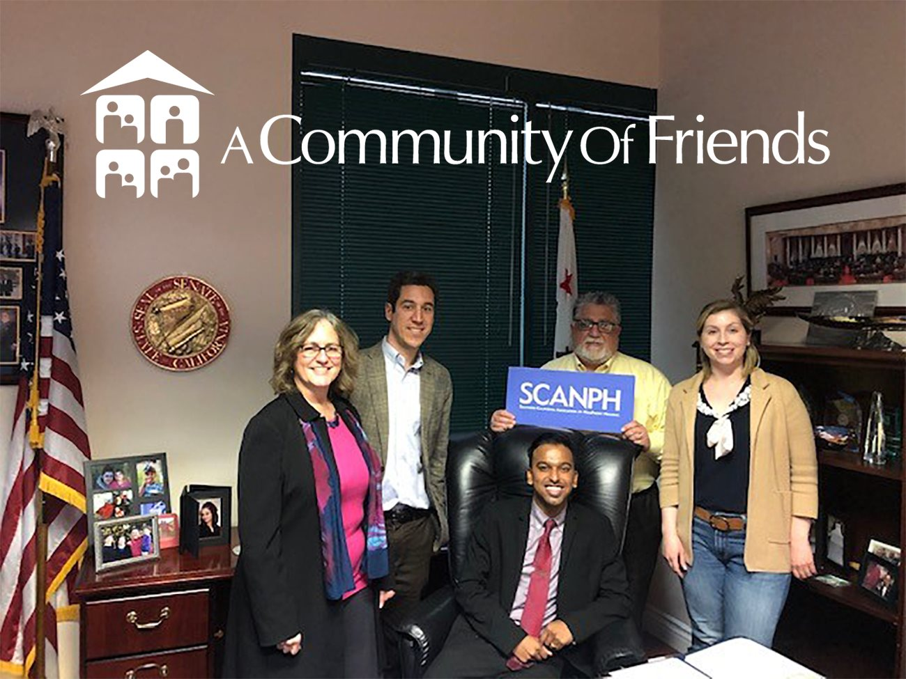ACOF's COO meets with CA Senator, Anthony Portantino, 25th District