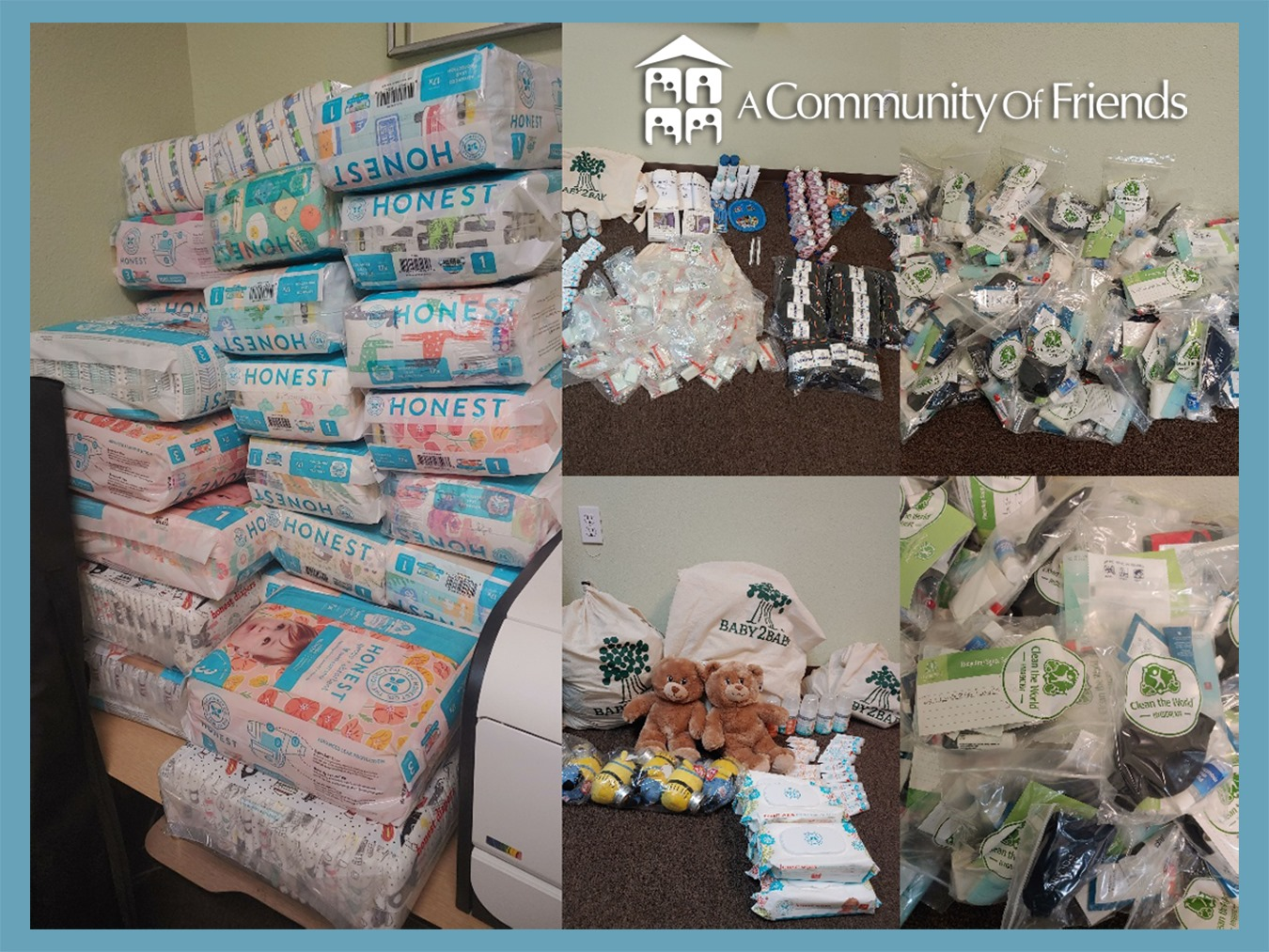 ACOF Receives In-Kind Donations from Baby2Baby